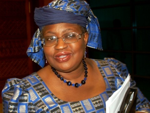 PIC 16.  DR NGOZI OKONJO IWEALA AFTER BEING SCREENED BY SENATE IN ABUJA     ON WEDNESDAY (6/7/11).