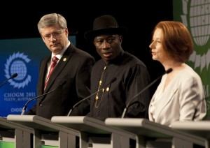Stephen Harper Goodluck Jonathan Julia Gillard